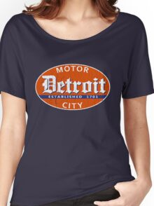 Vintage Detroit (Distressed Design) Women's Relaxed Fit T-Shirt