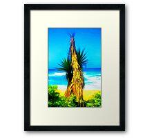 Dune Palm Framed Print