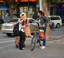 China Dream: Stuffed Animal by CaitlinDugas