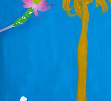 A Flower Loves a Palm 2 by Gwynith Lee