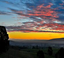 Taieri Plains Sunset by ColinGaleImages