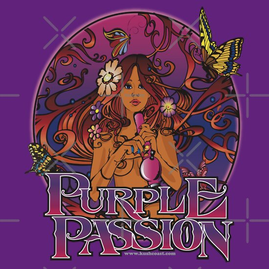 Purple Passion T-Shirts & Hoodies