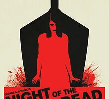 George A. Romero's Night of the Living Dead Movie Poster  by markitzero