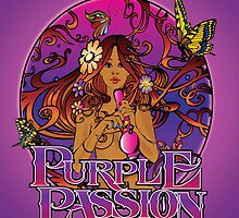 Purple Passion by kushcoast