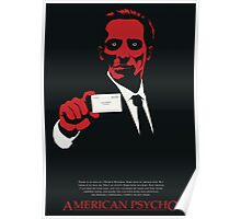 American Psycho: There Is An Idea of a Patrick Bateman Poster