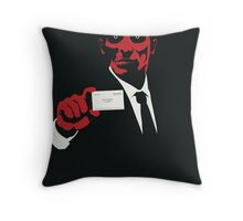 American Psycho: There Is An Idea of a Patrick Bateman Throw Pillow