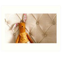 Maggie Rabbit Art Print