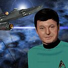 DeForrest Kelley - Dr. (Bones) McCoy by Andrew Wells