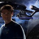 Karl Urban - Dr. (Bones) McCoy by Andrew Wells