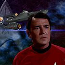 James Doohan - Chief Engineer Montgomery Scott (Scotty) by Andrew Wells