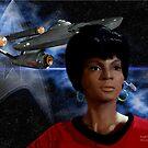 Nichele Nichols - Uhura by Andrew Wells