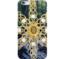 Green Forest Precious Gold  iPhone Case/Skin