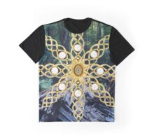 Green Forest Precious Gold  Graphic T-Shirt