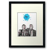 Jesse and Mr White Framed Print