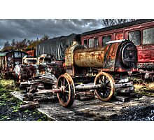 Railway Yard Photographic Print