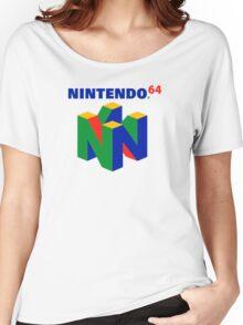Nintendo 64 Women's Relaxed Fit T-Shirt