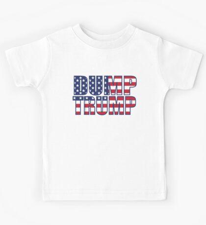 Patriotic Dump Trump  Kids Tee