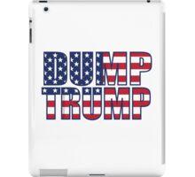 Patriotic Dump Trump  iPad Case/Skin