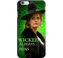 Wicked Rebecca Mader) iPhone Case/Skin