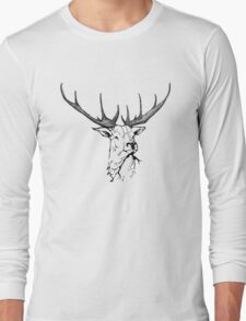 Wildlife Portrait Long Sleeve T-Shirt