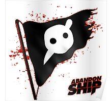 Knife Party - Abandon Ship Logo Poster