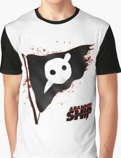Knife Party - Abandon Ship Logo Graphic T-Shirt
