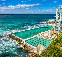 Icebergs Pool Bondi by Russell Charters