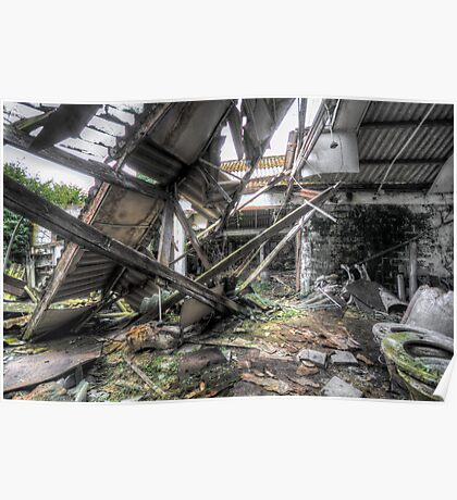 collapsed Poster