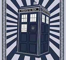 Tardis (Time Machine) by ixrid