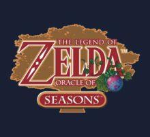 Zelda Oracle of Seasons Kids Tee