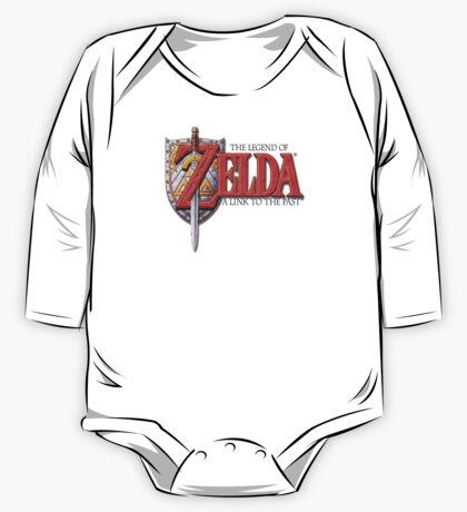 Zelda A Link to the Past One Piece - Long Sleeve