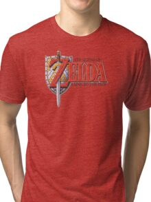 Zelda A Link to the Past Tri-blend T-Shirt
