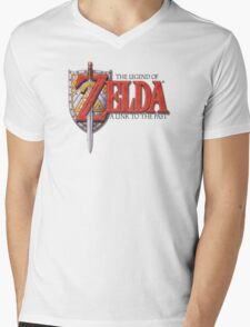 Zelda A Link to the Past Mens V-Neck T-Shirt