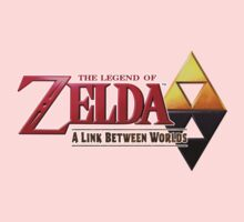 Zelda A Link Between Worlds Kids Tee