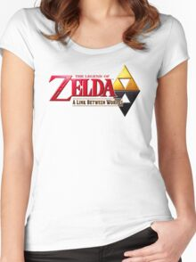 Zelda A Link Between Worlds Women's Fitted Scoop T-Shirt
