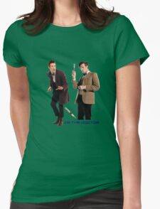 Doctor who - 11th Doctor  Womens Fitted T-Shirt