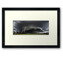 Browns Plains SuperCell Framed Print