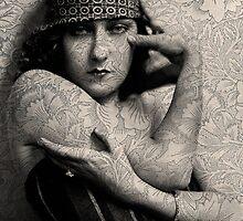 The Gloria Swanson Tattoo by Sarah Vernon