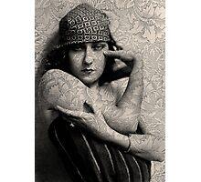 The Gloria Swanson Tattoo Photographic Print