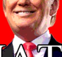 Donald Trump Hate Sticker