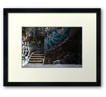 The stairs Framed Print
