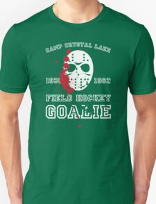 Camp Crystal Lake Field Hockey Team T-Shirt