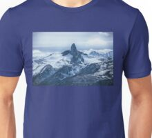Black Tusk, Garibaldi Provincial Park. View from Whistler mountain top. B.C. Unisex T-Shirt