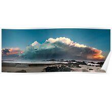 Sawtells Stormy Sunset Poster