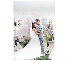Colleen & Josh Evans Wedding Poster