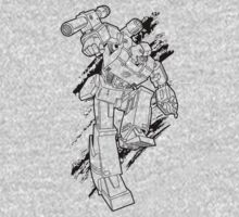Megatron (line art 1) One Piece - Long Sleeve