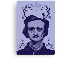 Poe! Poe! Poe! Canvas Print