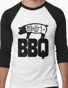 BBQ Men's Baseball ¾ T-Shirt
