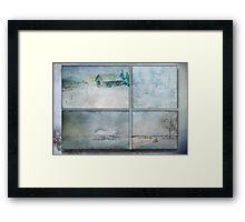 Wintry Hour Veil Framed Print