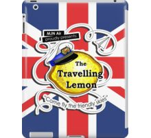 The Travelling Lemon - Union Jack edition iPad Case/Skin